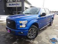 Options:  2017 Ford F-150 Xlt|Blue|Recent