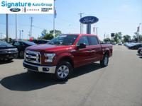 Options:  2017 Ford F-150 Xlt|Ruby Red Metallic Tinted