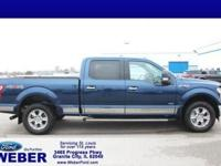 Recent Arrival! Blue 2017 Ford F-150 * BLUETOOTH *, *