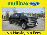 2017 Ford F-250SD Lariat At Mullinax there are NO