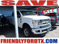 This Ford Super Duty F-250 SRW delivers a Regular