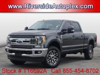 2017 Ford F-250SD Lariat in Magnetic Metallic, 4WD,