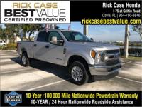 CARFAX One-Owner. Clean CARFAX. 4WD. 2017 Ford F-250SD