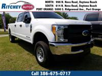 LOCALLY OWNED 2017 FORD SUPER DUTY F-250 SRW XL CREW