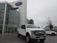 Oxford White 2017 Ford F-250SD XL 4WD 6-Speed Automatic