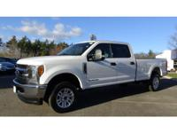 CARFAX One-Owner. Clean CARFAX. White 2017 Ford F-250SD