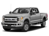 Recent Arrival! Clean CARFAX. Gray 2017 Ford F-250SD 4D