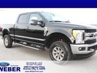 Recent Arrival! Shadow Black 2017 Ford F-250SD 4WD.