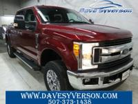 Ruby+Red+2017+Ford+F-350SD+XLT+4WD+6-Speed+Automatic+V8