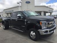Options:  2017 Ford F-350Sd|Black|3.73 Axle Ratio|Gvwr: