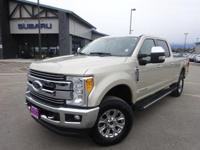 Options:  2017 Ford F-350Sd Lariat|Gold|Recent