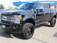 HARD TO FIND 2017 FORD F-350 PLATINUM BIG LIFT 20in