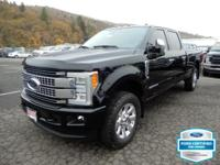 Black 2017 Ford F-350SD 4WD TorqShift 6-Speed Automatic