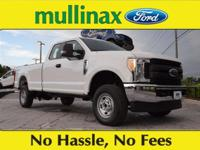 Oxford White 2017 Ford F-350SD XL V8 At Mullinax Ford