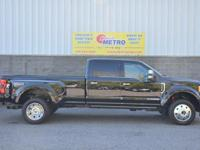 CARFAX One-Owner. Shadow Black 2017 Ford F-450SD