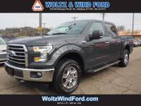 XLT 4WD SuperCrew 5.5' Box / CHROME PKG - HEATED SEATS