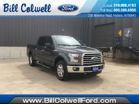 New Price! Magnetic Metallic 2017 Ford F-150 XLT 4WD