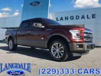 Bronze Fire Metallic 2017 Ford F-150 King Ranch 145 WB