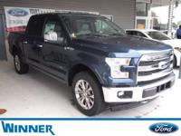 Blue Jeans Metallic 2017 Ford F-150 Lariat 4WD 10-Speed