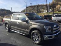2017 Ford F-150 Lariat 4WD 10-Speed Automatic EcoBoost