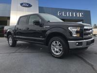 Black 2017 Ford F-150 Lariat 4WD 6-Speed Automatic