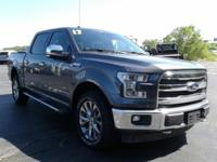 This 2017 Ford F-150 has a 3.5L V6. Standard features