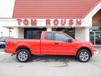Race Red 2017 Ford F-150 XL 4WD 6-Speed Automatic