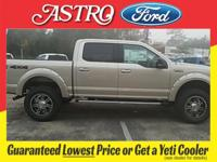 White Gold 2017 Ford F-150 XLT 4WD 6-Speed Automatic