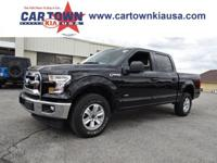 Recent Arrival! 2017 Ford F-150 XLT Black 4WD, ABS