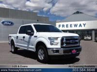 Oxford White 2017 Ford F-150 XLT 10-Speed Automatic
