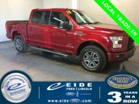 2017 Ford F-150 XLT Highlighted with SiriusXM Satellite