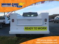 READING 8FT SERVICE BODY, SNOW PLOW PREP, SYNC