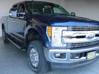 2017 Ford F-250SD Lariat Blue Jeans Metallic 4D Crew