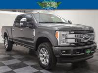 Clean CARFAX. Magnetic Metallic 2017 Ford F-250SD