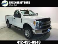 2017 Ford F-250SD XL 4WD New Price! CARFAX One-Owner.