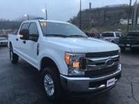 White 2017 Ford F-250SD XLT 4WD 6-Speed Automatic 6.2L