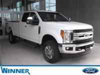 Oxford White 2017 Ford F-350SD XLT 4WD 6-Speed