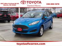 CARFAX One-Owner. Clean CARFAX. Blue 2017 Ford Fiesta