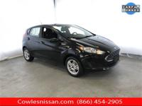 CARFAX One-Owner. Clean CARFAX. Black 2017 Ford Fiesta