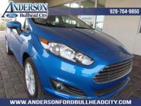 Blue Candy 2017 Ford Fiesta SE FWD 6-Speed Automatic
