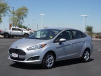 This 2017 Ford Fiesta SE boasts features like a hill