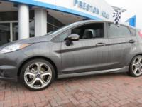 2017 Ford Fiesta ST FWD Gray 6-Speed Manual EcoBoost