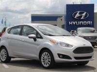 2017 Ford Fiesta Titanium FWD 6-Speed Automatic 1.6L I4