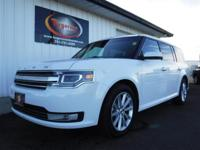 FREE POWERTRAIN WARRANTY! VERY CLEAN 2017 FORD FLEX