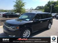 This 2017 Ford Flex Limited in Shadow Black features: