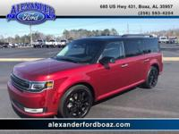 2017 Ford Flex Limited FWD. +++ Carfax One Owner