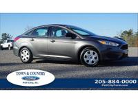 New Price! Clean CARFAX. 2017 Ford Focus S FWD 5-Speed