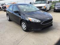 Recent Arrival! Ford Focus S Shadow Black FWD CARFAX