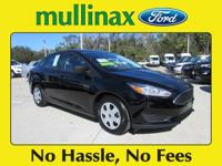 2017 Ford Focus S 34/25 Highway/City MPG At Mullinax