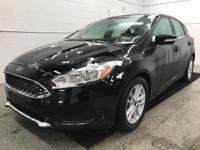 Options:  2017 Ford Focus Se|Black|Recent Arrival!